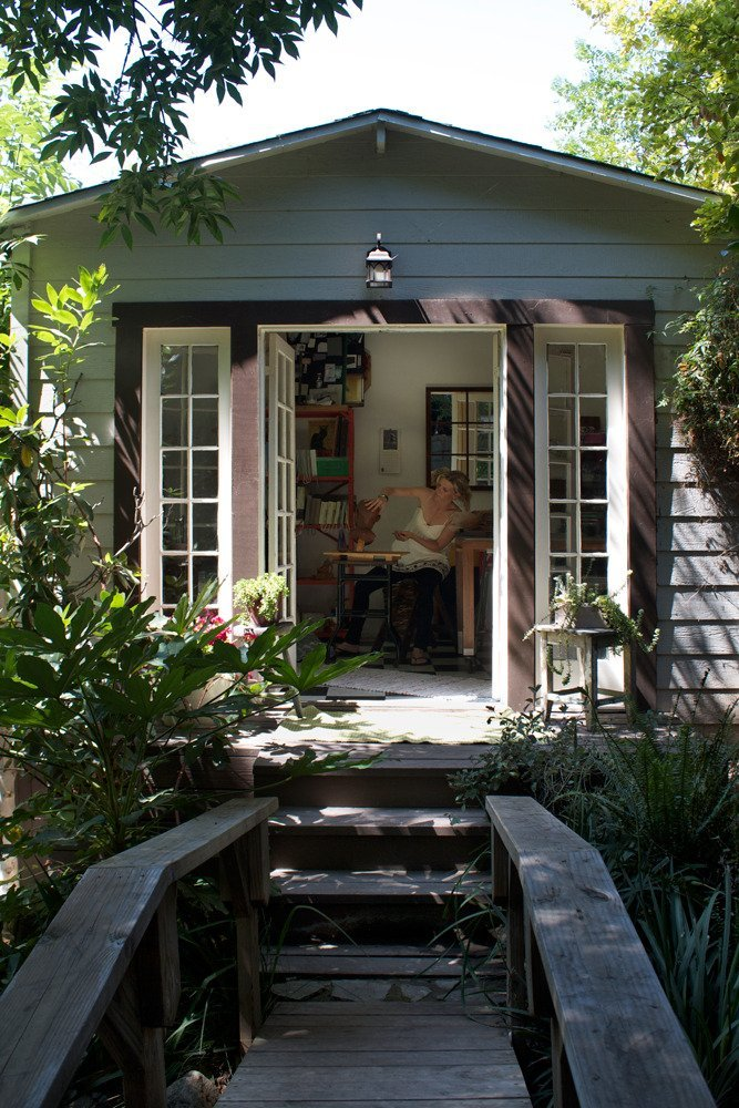 Isabelle & Brandon's Lovely Los Angeles Cottage on Apartment Therapy