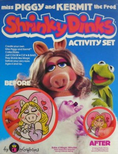 Muppet Shrinky Dinks!